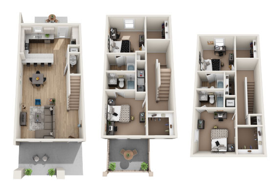 Floorplan Hillsborough B